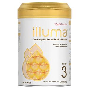 illuma® Human Affinity™  Stage 3 Growing Up Baby Formula 900g