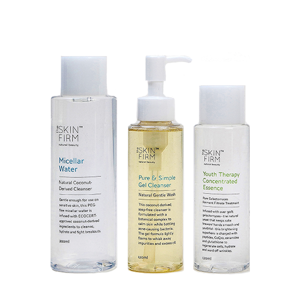 Gentle Cleansers and Essence Set
