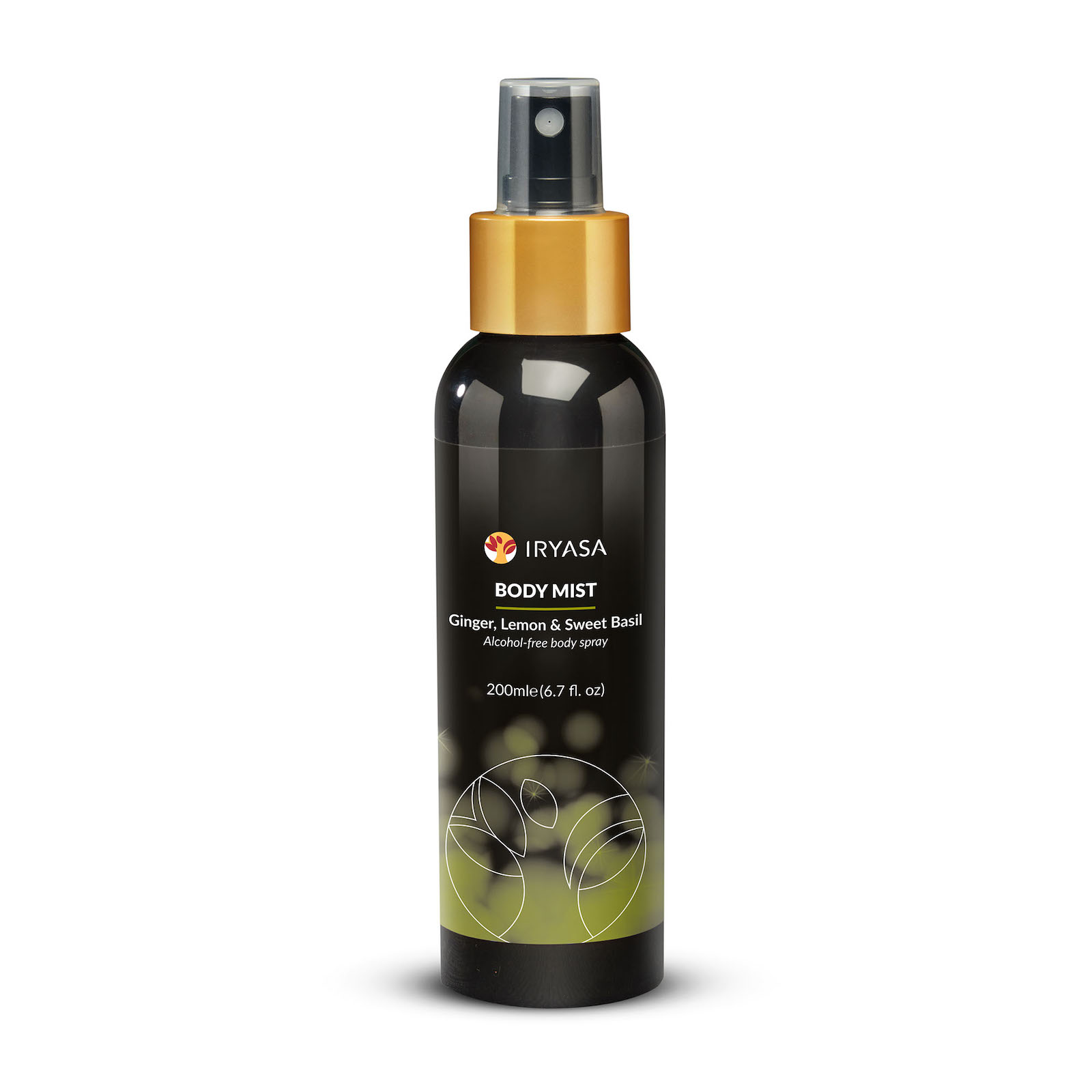 Body Mist 200 mL / Ginger, Lemon & Sweet Basil