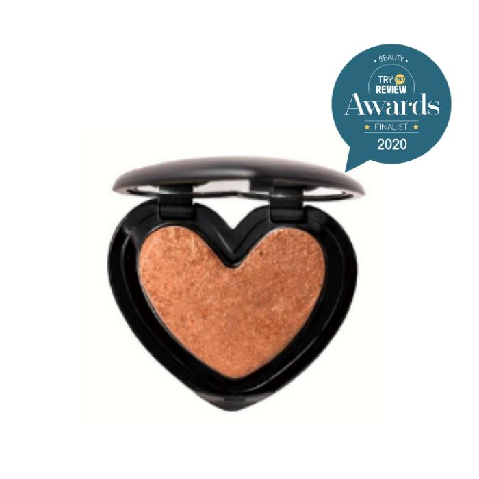 Heart Shape Highlighter Palette Face Contour Illuminator Shimmer Bronzer