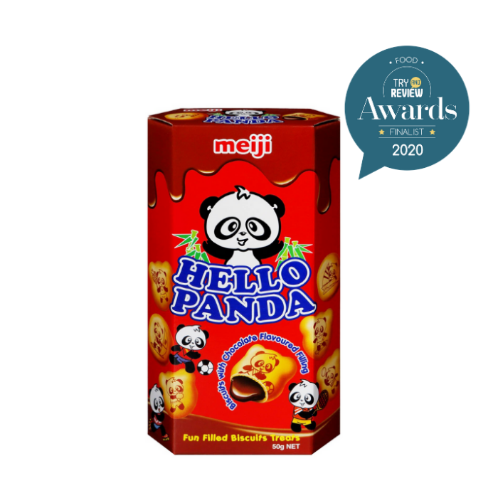 Hello Panda Biscuits with Chocolate Cream