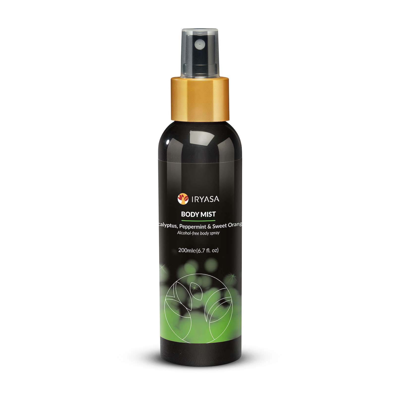 Body Mist 200 mL / Eucalyptus, Peppermint & Sweet Orange
