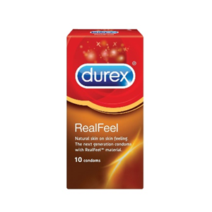 Durex Real Feel Condoms (non latex) x10