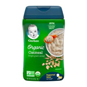 Organic Cereal - Oatmeal