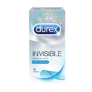 Durex Invisible Extra Sensitive Condoms (our thinnest) x10