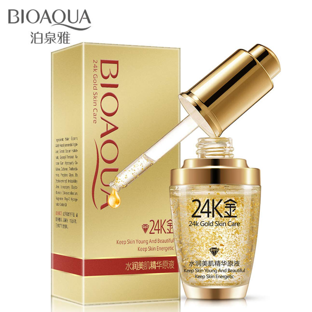 24K Gold Whitening Moisturizing Serum