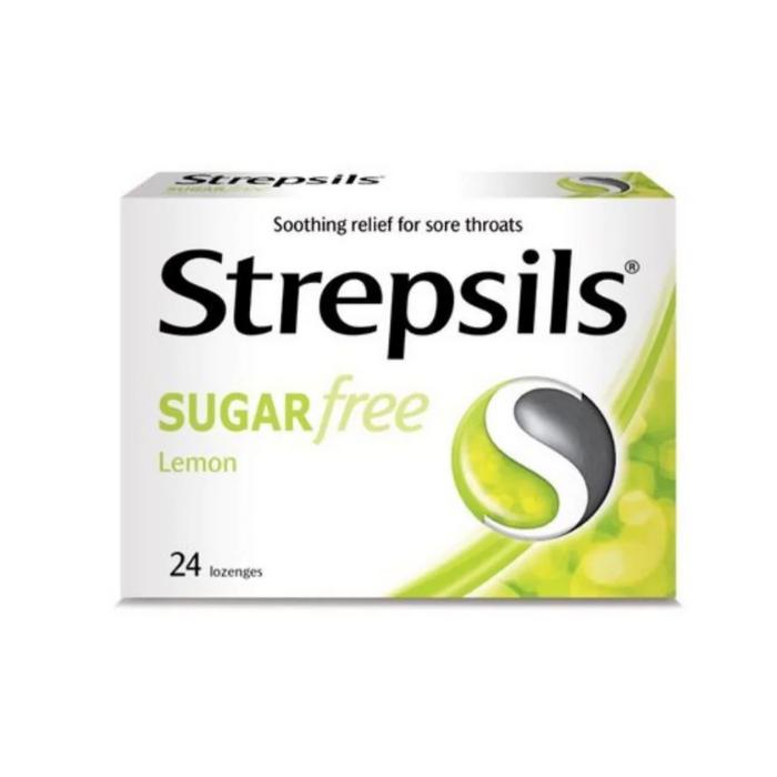 Lozenges for Sore Throats - Sugar Free Lemon