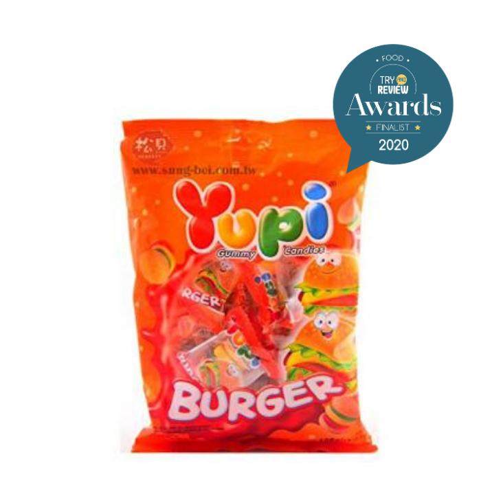 Mini Burger Gummy Candy