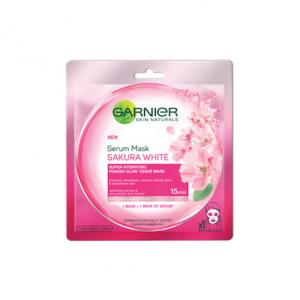 Hydra Bomb Sakura White Pinkish Glow Serum Tissue Mask