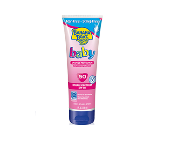 Banana Boat® Baby Tear-Free Sting-Free Lotion Sunscreen SPF 50