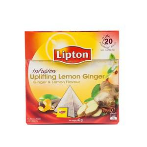 Lemon Ginger Pyramid Tea