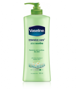 Vaseline Intensive Care Lotion Aloe Soothe