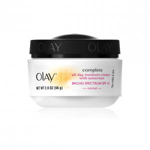 OLAY COMPLETE ALL DAY MOISTURIZER WITH SUNSCREEN BROAD SPECTRUM SPF 15—NORMAL 2OZ JAR