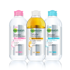 Micellar Cleansing Water Range