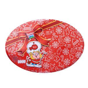 Loacker Oval Gift Tin (Minis) Wafer Cookies