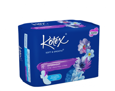 Kotex Soft and Smooth Overnight