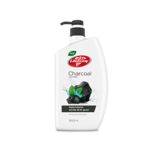 Charcoal and Mint Body Wash