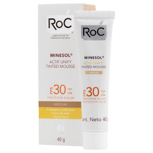 ROC® MINESOL® ACTIF UNIFY TINTED MOUSSE Deep 30 FPS