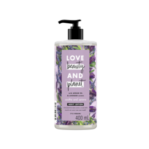 Argan Oil & lavender body lotion