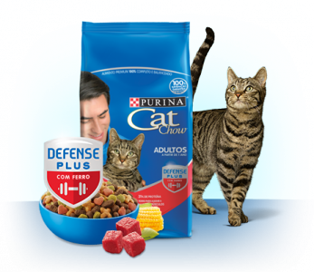 PURINA®CAT CHOW® Adultos Carne