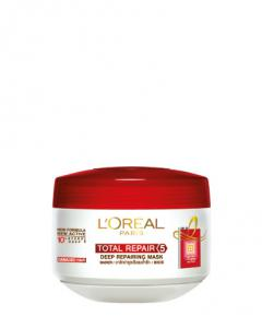 Total Repair 5 Deep Repairing Masker Rambut By L Oreal Paris Review Styling Perawatan Rambut Tryandreview Com
