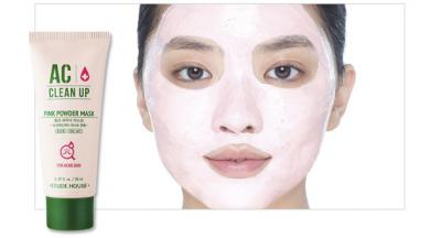 AC + Clean Up Pink Powder Mask