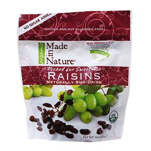 Organic Naturally Sun-Dried Raisins