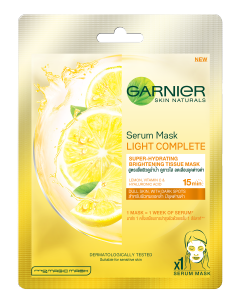 Garnier Serum Mask Lemon + Vitamin C
