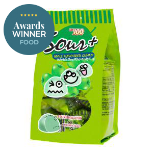 Sour+ Apple Flavoured Gummy