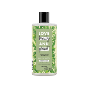 Tea Tree Oil & vetiver body wash
