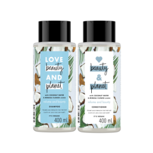 Coconut Water and Mimosa flower shampoo & conditioner