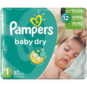 Baby Dry Diapers - S