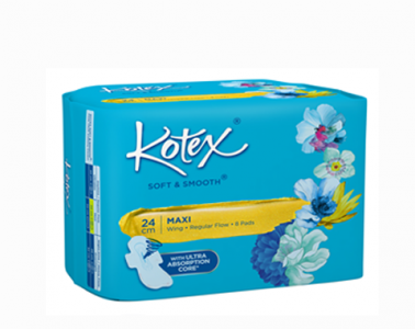 Kotex Soft & Smooth Maxi Wing