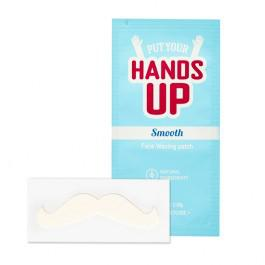 Put Your Hands Up Smooth Face Waxing Patch