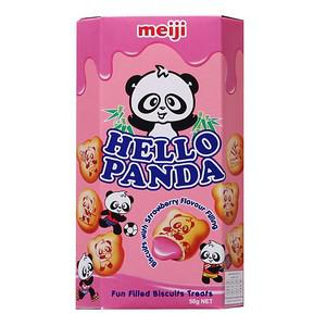 Hello Panda Biscuits with Strawberry Cream
