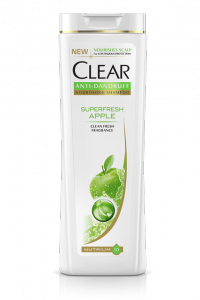 CLEAR Superfresh Apple Anti-Kelemumur Shampoo