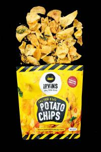 Chinese New Year Salted Egg Potato Chips