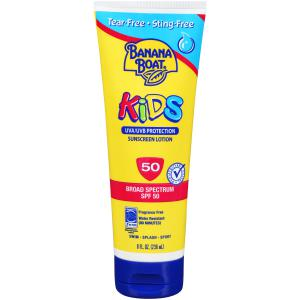 Banana Boat® Kids Tear-Free Sting-Free Lotion Sunscreens SPF 50