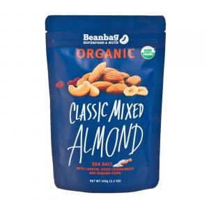 Organic Classic Mixed Almond with Sea Salt