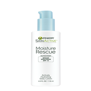 MOISTURE RESCUE ACTIVELY HYDRATING DAILY LOTION SPF 15