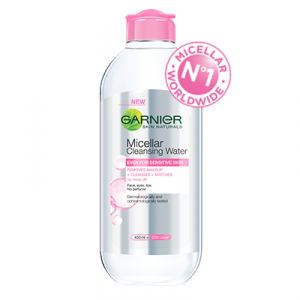 All-in-1 Micellar Cleansing Water (Pink)