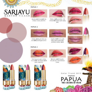 Papua The Colors Asia Color Trend 2015 Lipstik