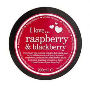 Raspberry and Blackberry Body Butter