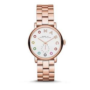 Marc By Marc Baker Rose Gold Stainless Steel Watch