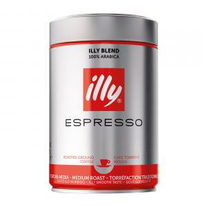 illy Espresso Medium Roast Ground Coffee