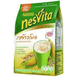 NESVITA INSTANT CEREAL DRINK CORN WITH PUFFED RICE