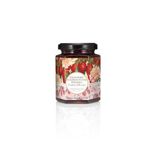 Strawberry and Rose Water Preserve