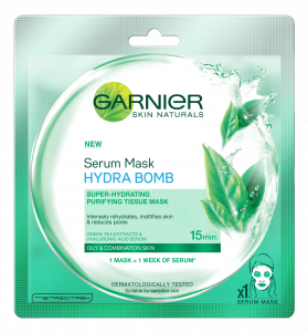 Garnier Serum Mask Green Tea