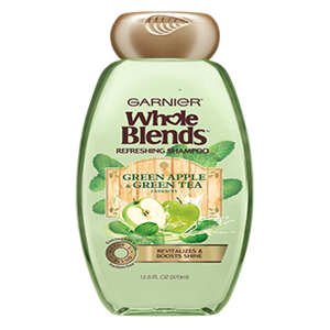REFRESHING SHAMPOO WITH GREEN APPLE & GREEN TEA EXTRACTS 12.5 FL OZ