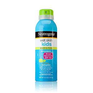 Wet Skin Kids Sunscreen Spray Broad Spectrum SPF 70+